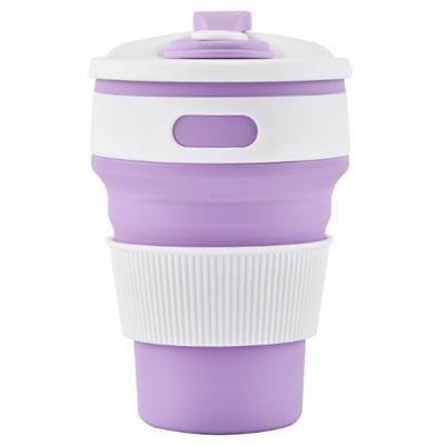 Picture of COLLAPSIBLE CUP in Purple