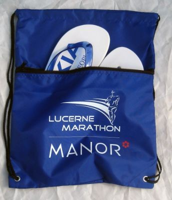 Picture of DRAWSTRING BAG with Zipper