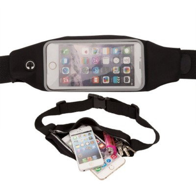 Picture of PHONE RUNNING BELT in Black