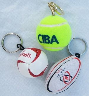 Picture of SPORTS BALL KEYRING
