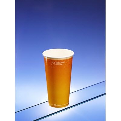 Picture of COMPOSTABLE & RECYCLABLE PAPER PINT CUP
