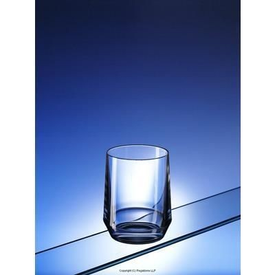 Picture of BLACK & WHITE LOW BALL TUMBLER