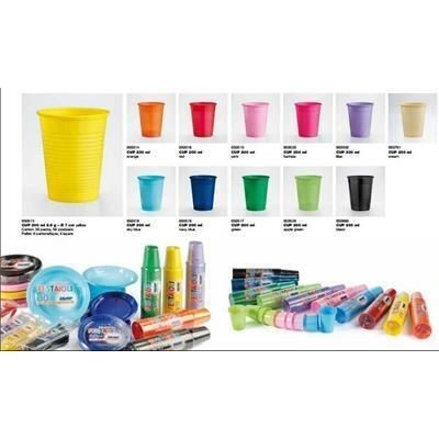 Picture of COLOUR PLASTIC CUP