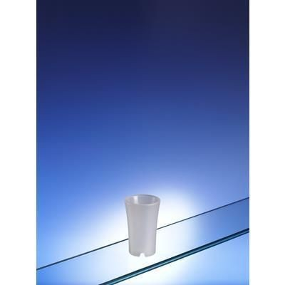 Picture of FROSTED WHITE PLASTIC SHOT GLASS