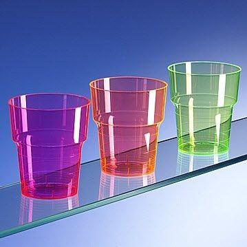 Picture of NEON FLUORESCENT PLASTIC GLASS
