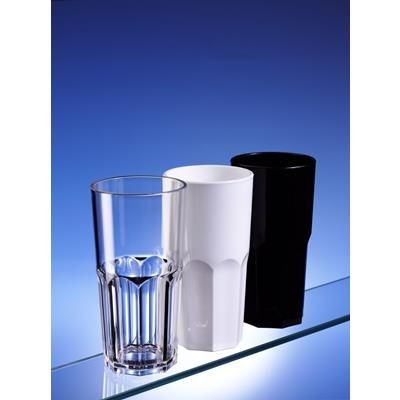 Picture of PREMIUM REUSABLE BLACK AND WHITE GRANITI GLASS