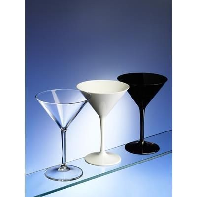 Picture of PREMIUM UNBREAKABLE PLASTIC MARTINI COCKTAIL GLASS