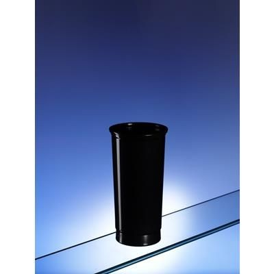 Picture of RECYCLABLE PLASTIC HIGHBALL GLASS in Black Plastic