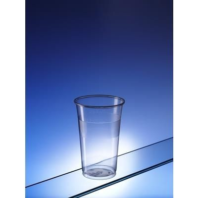 Picture of RECYCLABLE PLASTIC TWO THIRDS OF PINT GLASS