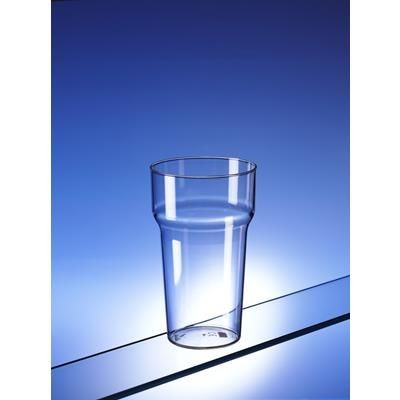 Picture of INEXPENSIVE UNBREAKABLE PLASTIC PINT GLASS