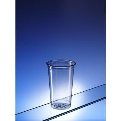 Picture of RECYCLED PLASTIC HALF PINT GLASS
