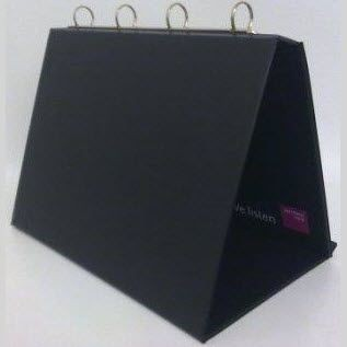 Picture of PVC EASEL RING BINDER