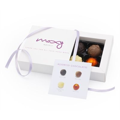 Picture of CHOCOLATE BOX with 4 Luxury Chocolate