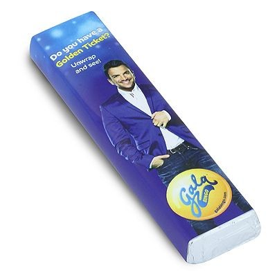 Picture of PERSONALISED YORKIE STYLE CHOCOLATE BAR in Milk or Dark High Quality Chocolate