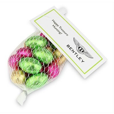 Picture of PERSONALISED EASTER NET OF MINI CHOCOLATE EGGS