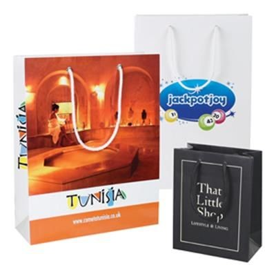 Picture of ROPE HANDLE LUXURY PAPER CARRIER BAG