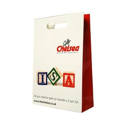 Picture of LUXURY PAPER CARRIER BAG with Die Cut Handle