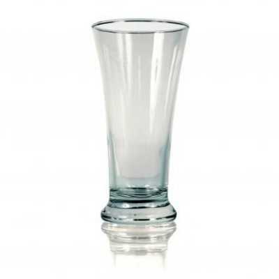 Picture of FLUTED BEER GLASS in Clear Transparent
