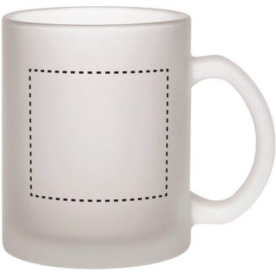 Picture of BUDGET BUSTER FROSTED GLASS MUG