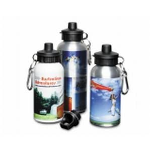 Picture of ALUMINIUM METAL SILVER METAL SPORTS DRINK BOTTLE