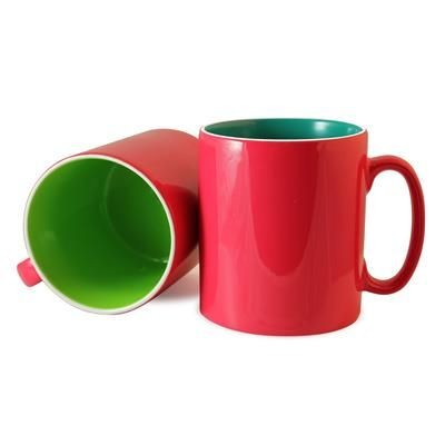 Picture of DURHAM INNER & OUTER COLOUR COAT MUG
