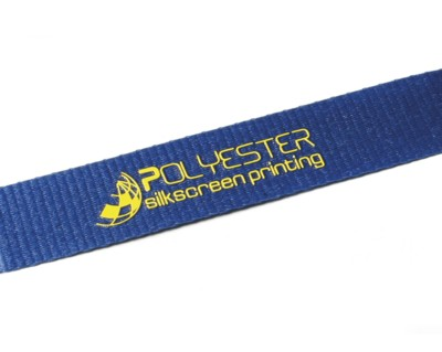 Picture of 15MM FLAT POLYESTER LANYARD