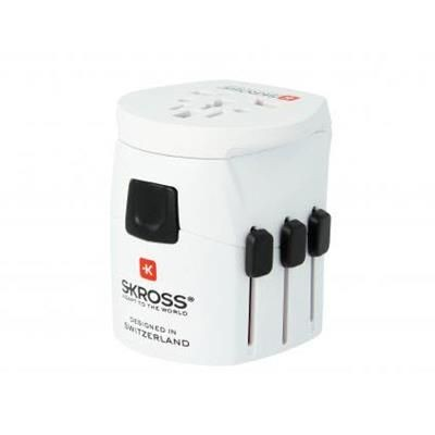 Picture of SKROSS® PRO LIGHT WORLD TRAVEL ADAPTOR in White