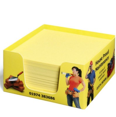Picture of COMPACT CARD MEMO NOTE PAD CUBE BLOCK