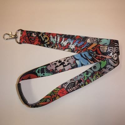 Picture of 25MM DYE SUBLIMATION PRINTED LANYARD