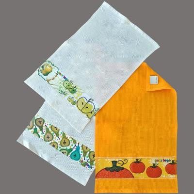 Picture of DIGITAL PRINTED BORDER TEA TOWEL