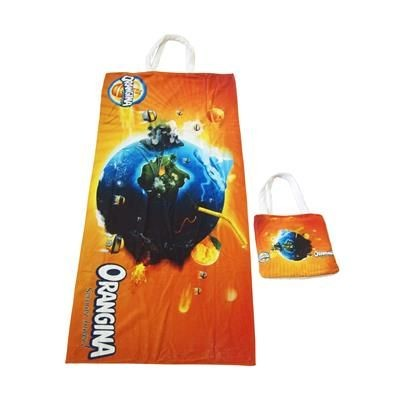Picture of DIGITAL PRINTED BEACH TOWEL & BAG COMBINATION