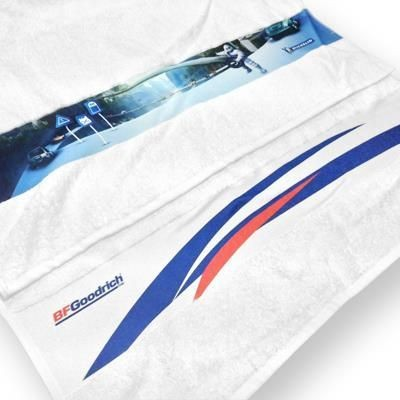 Picture of TERRY SPORTS TOWEL with Printed Border