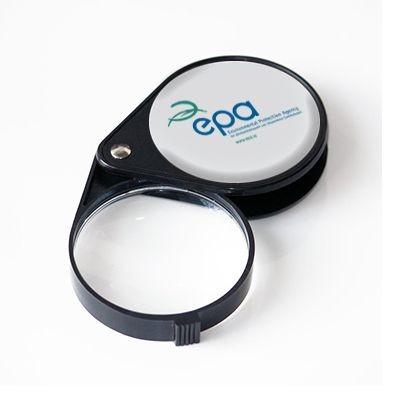 Picture of PROMO FOLDING POCKET MAGNIFIER in Black