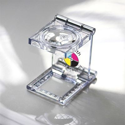 Picture of PLASTIC LINEN TESTER MAGNIFIER in Transparent Clear Transparent