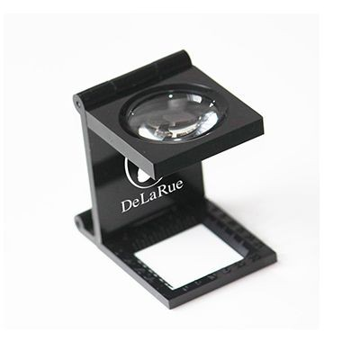 Picture of METAL LINEN TESTER MAGNIFIER in Black