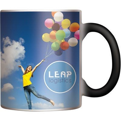 Picture of CHAMELEON COFFEE MUG in White