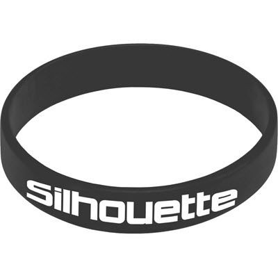 Picture of SILICON WRIST BAND in Black