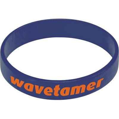 Picture of SILICON WRIST BAND in Dark Blue
