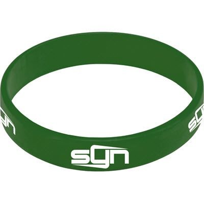 Picture of SILICON WRIST BAND in Dark Green