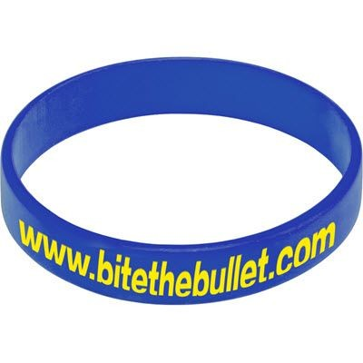 Picture of SILICON WRIST BAND in Mid Blue