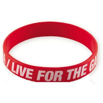 Picture of PRINTED SILICON WRIST BAND in Red