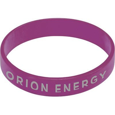Picture of SILICON WRIST BAND in Purple