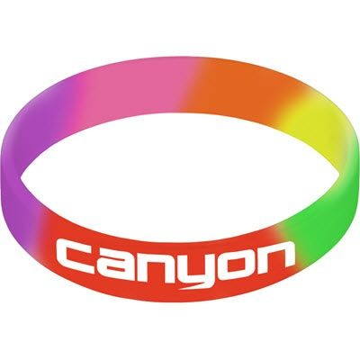 Picture of SILICON WRIST BAND in Rainbow