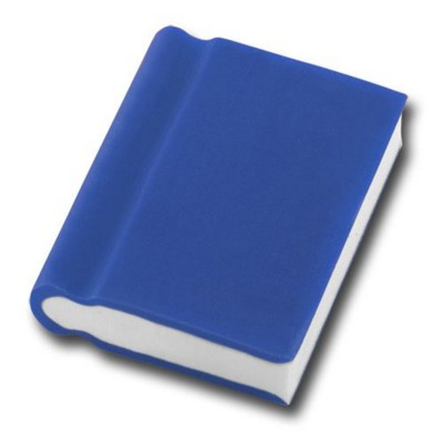 Picture of BOOK SHAPE ERASER in Blue