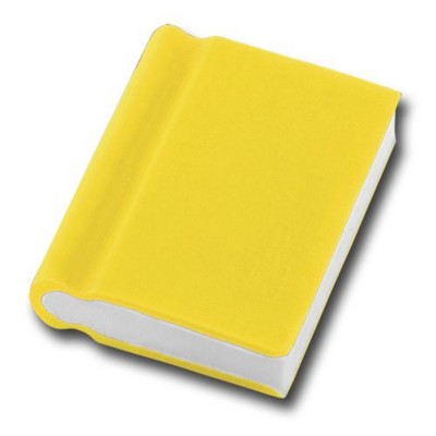 Picture of BOOK SHAPE ERASER in Yellow