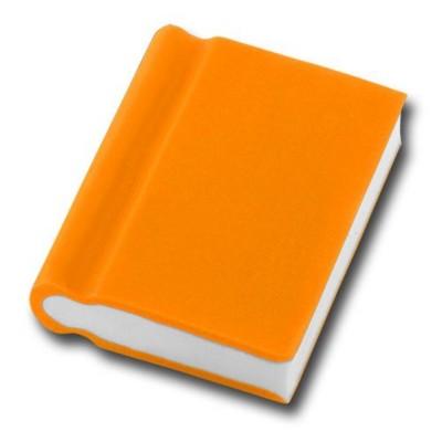 Picture of BOOK SHAPE ERASER in Orange