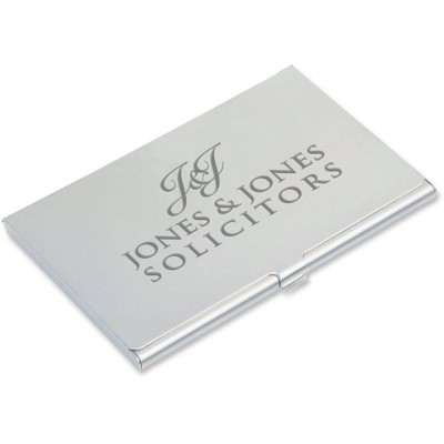 Picture of BUSINESS CARD HOLDER in Silver