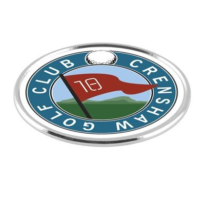 Picture of SILVER CHROME GOLF BALL MARKER in Silver