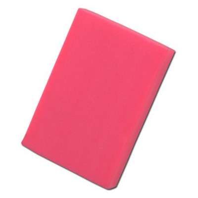 Picture of COLOURFUL RECTANGULAR ERASER in Neon Fluorescent Magenta