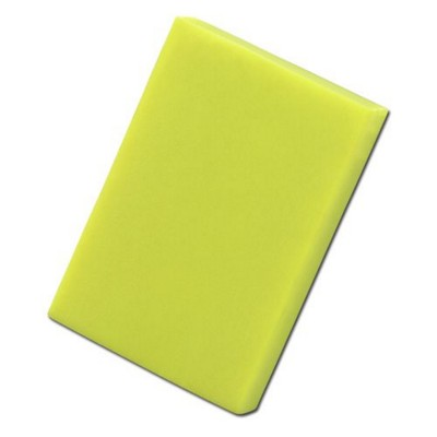 Picture of COLOURFUL RECTANGULAR ERASER in Neon Fluorescent Yellow